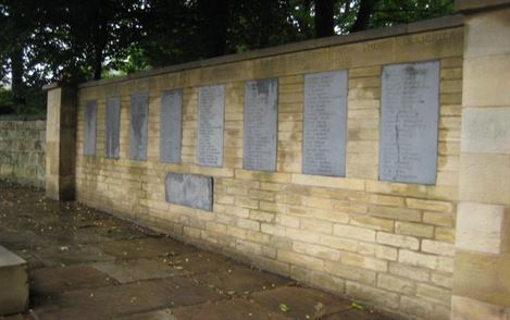 "memorial to those miners who lost their lives in the first world war. The inscription reads ""To the memory of the brave men from their collieries, who laid down their lives in the service of their country""."